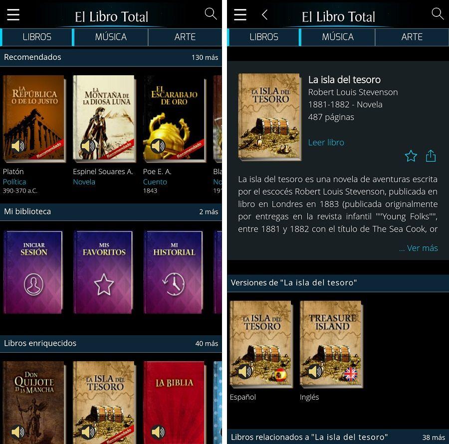 5 aplicaciones para leer cómodamente en tu móvil 2