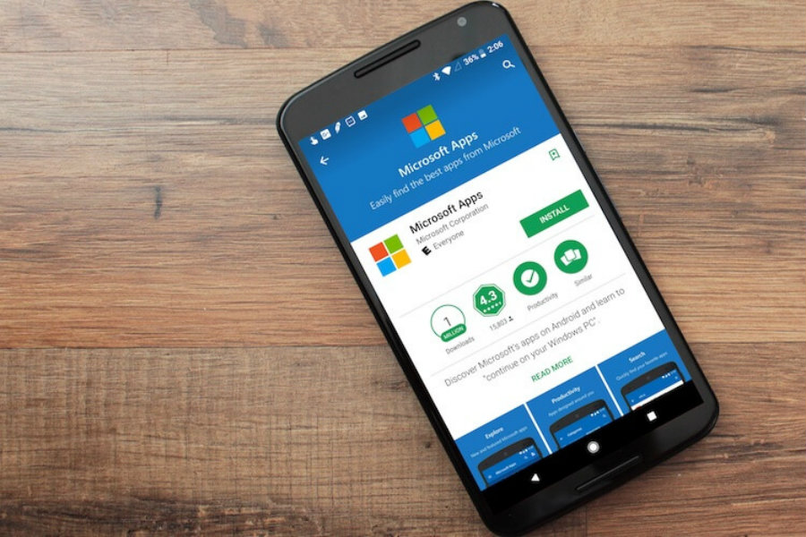 Microsoft-Apps-Android