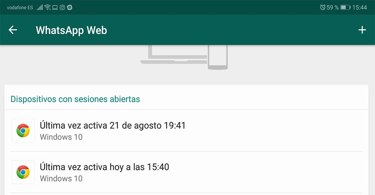 WhatsApp web hackeo