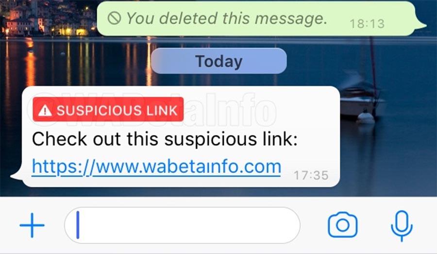 WhatsApp iPhone actualización