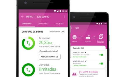 La app de Yoigo permite ahora cambiar la contraseña del WiFi