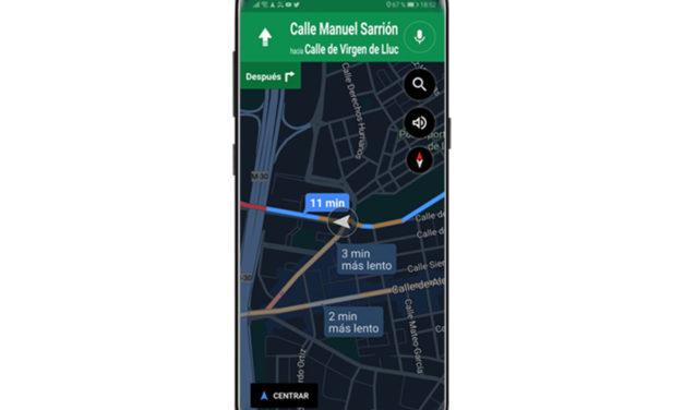 Cómo cambiar al modo noche manualmente en Google Maps para Android