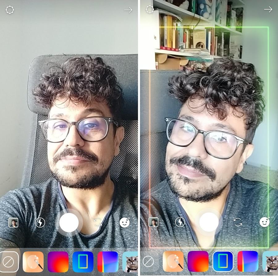 marco de luces instagram