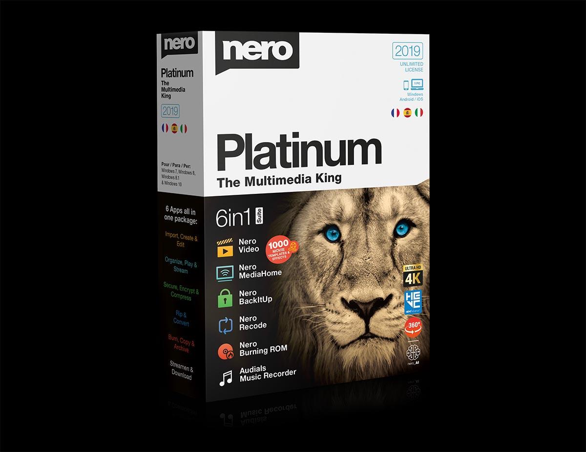 Nero 2019, estas son sus herramientas para móviles Android y iPhone