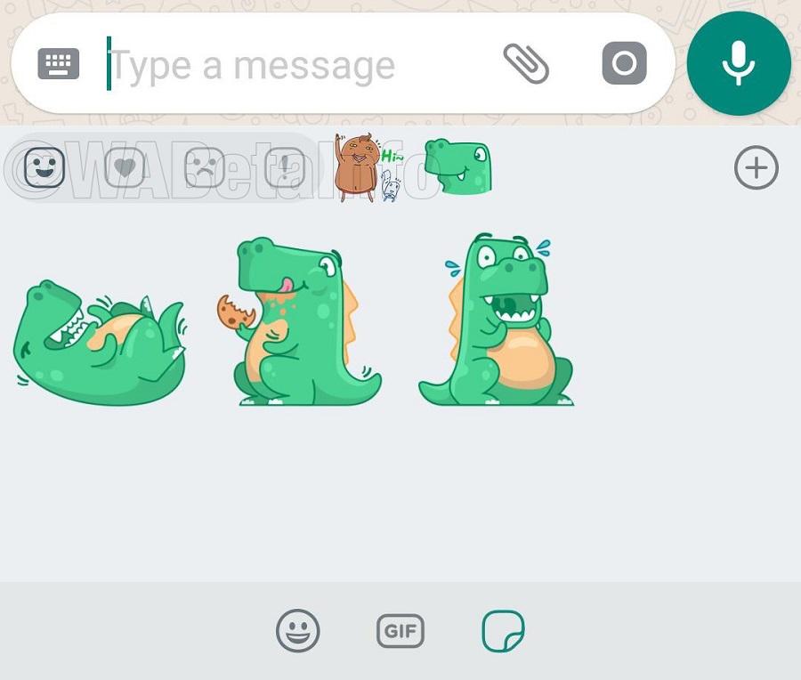 WhatsApp lanza los stickers o pegatinas para sus chats