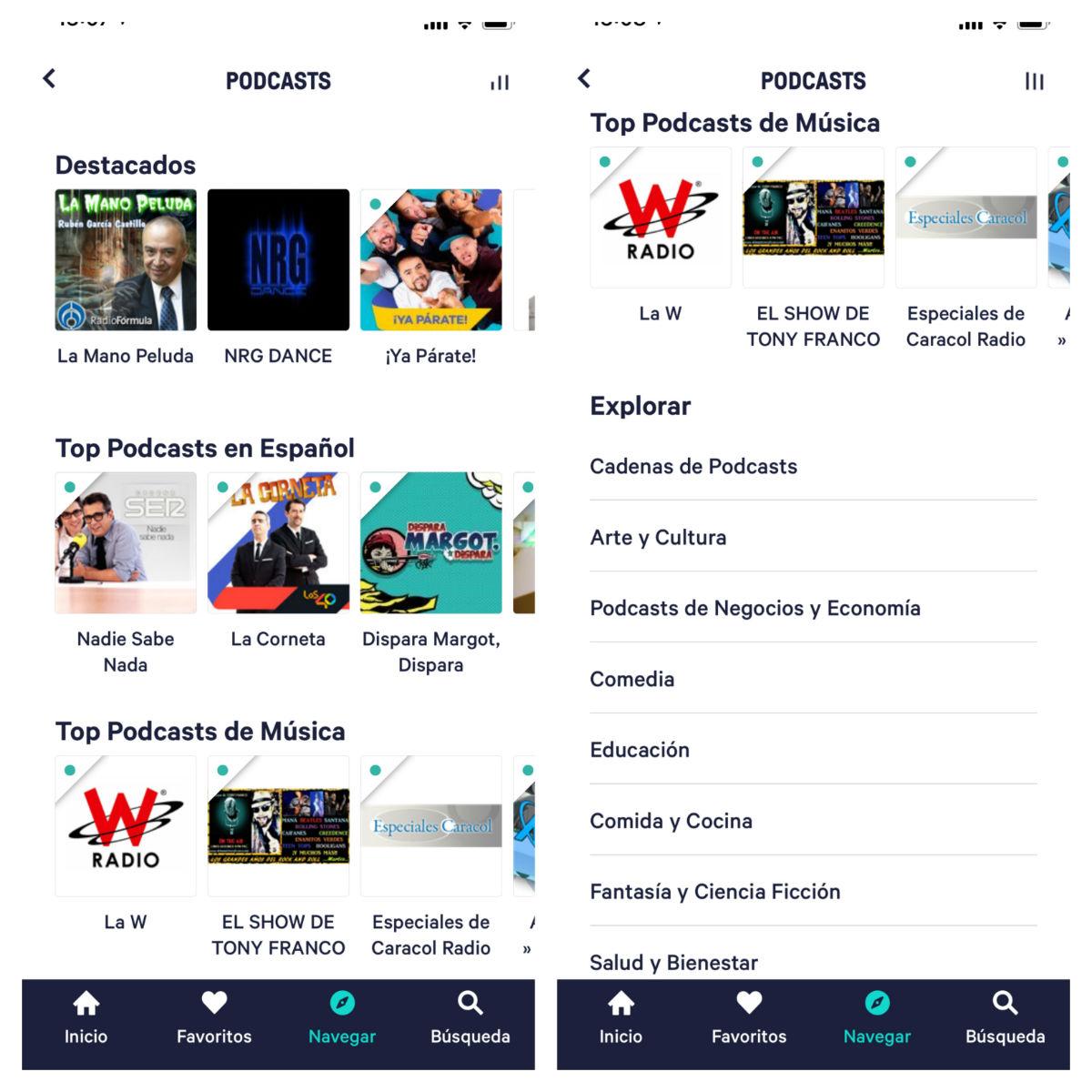 Las 5 mejores aplicaciones para escuchar y descargar podcast