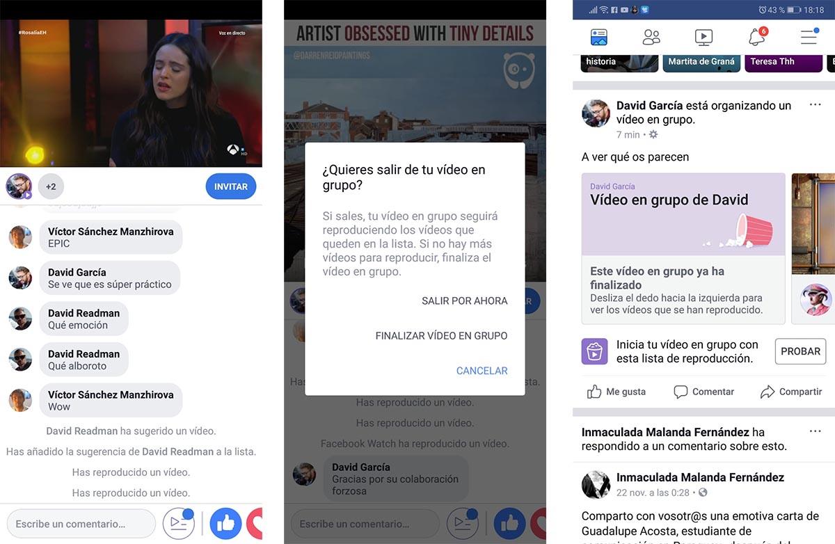 Facebook c mo entrar en directo en un v deo en grupo for Grupo facebook