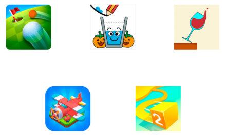Los 5 juegos del momento para Android