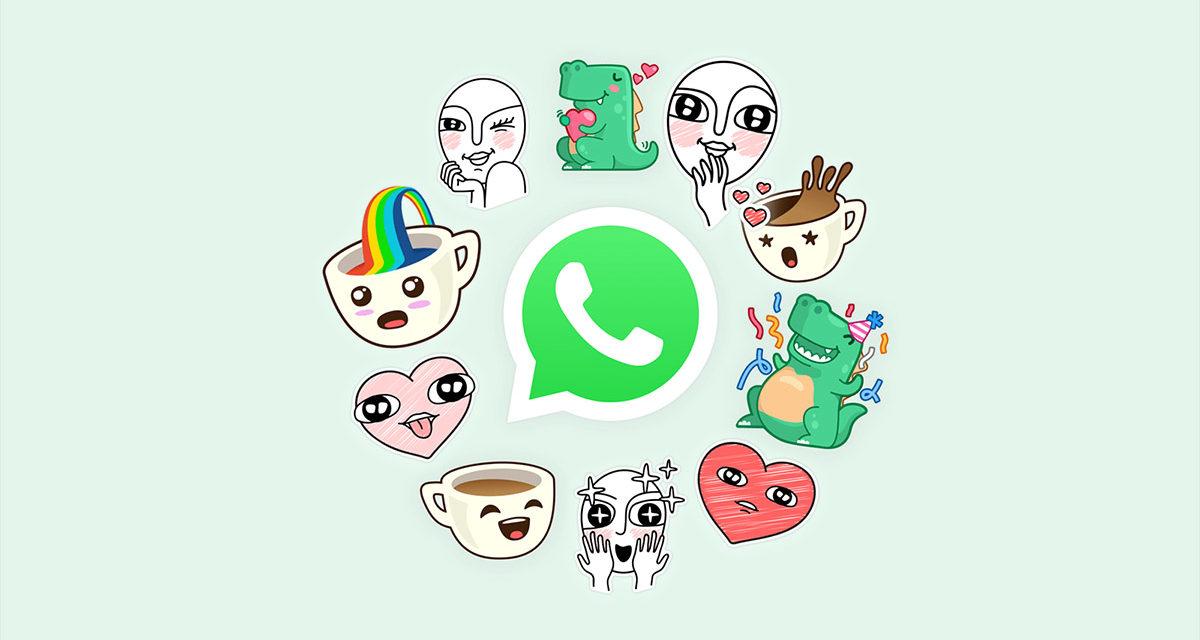 Stickers personales para WhatsApp, así puedes crear tus propias pegatinas