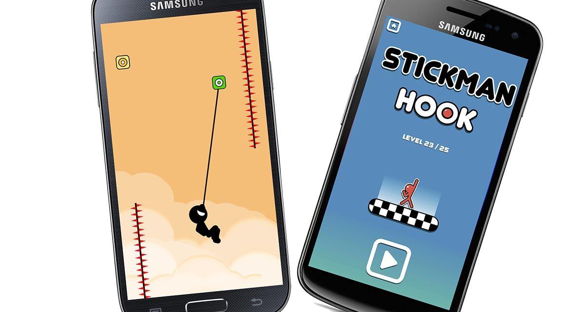 Swing Star y Stickman Hook, los juegos de balanceo que triunfan en Android