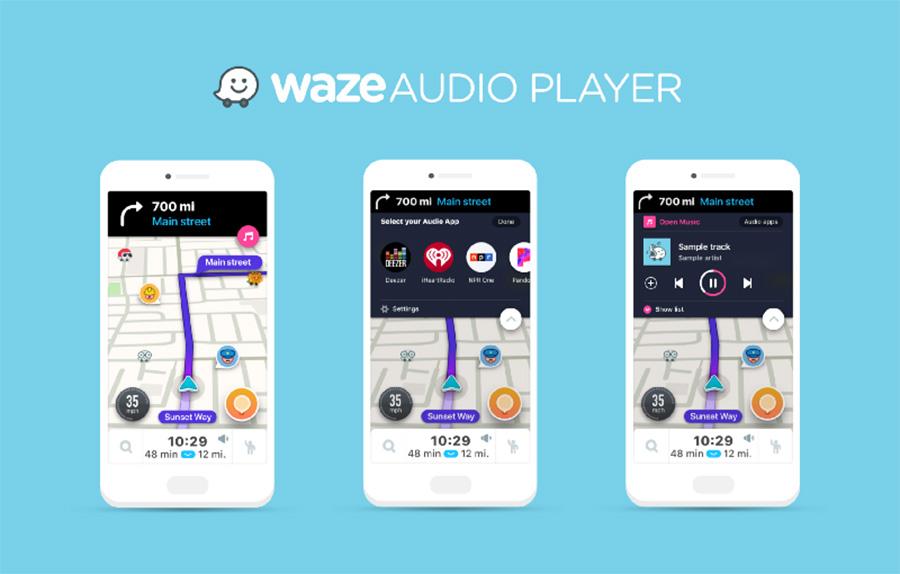 Cómo escuchar la música de TuneIn y las indicaciones de Waze en el coche