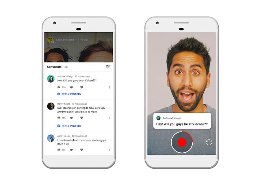 Las YouTube stories o historias de YouTube ya están disponibles
