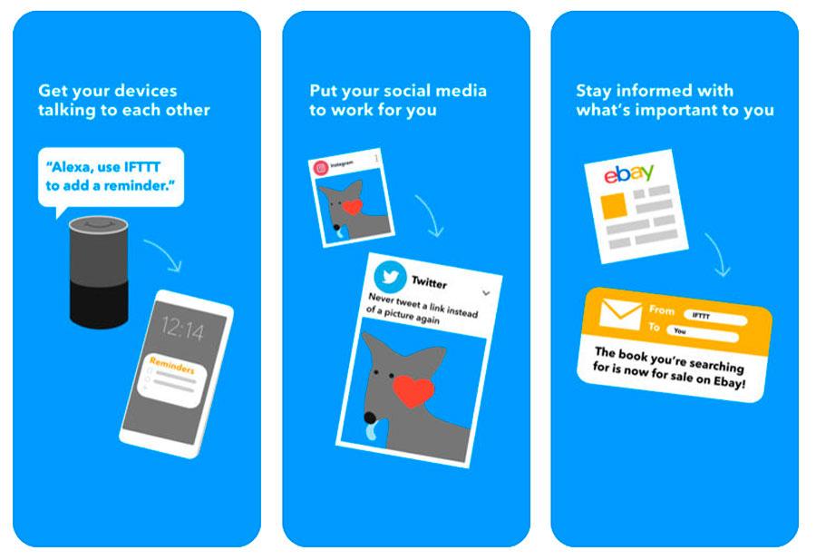 10 apps imprescindibles para estrenar tu nuevo iPhone IFTTT