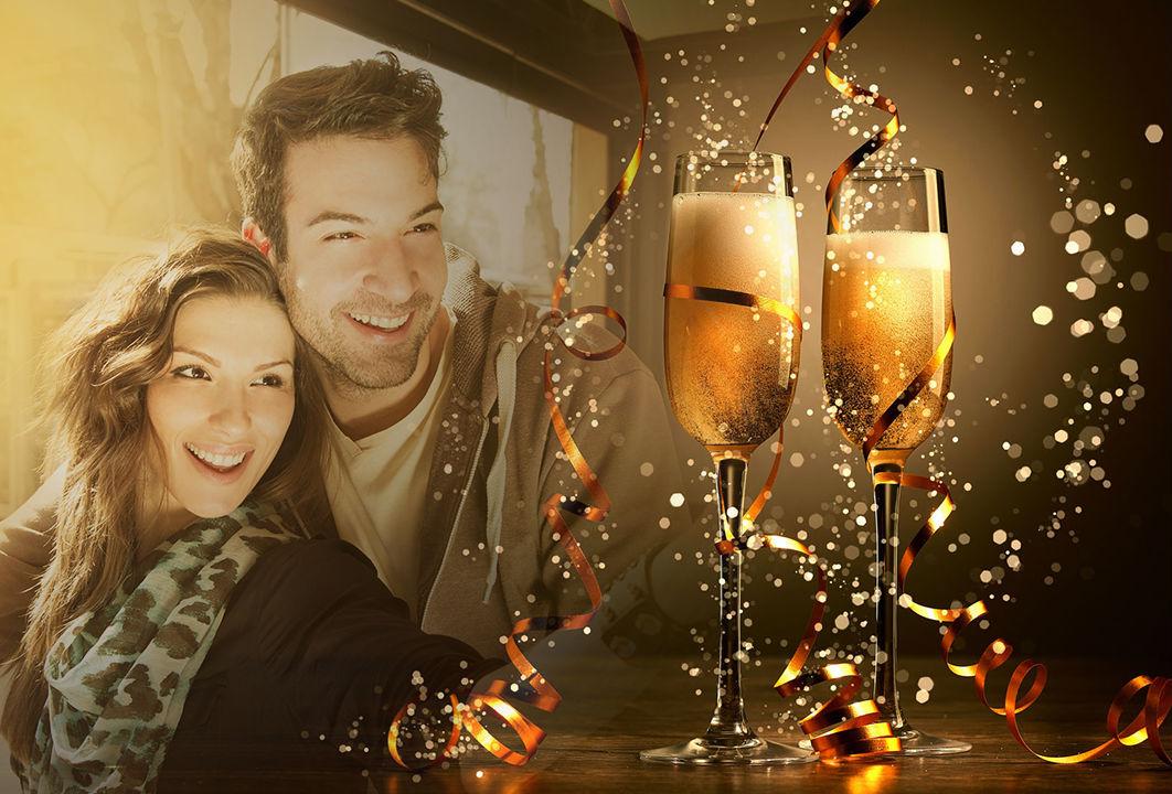 Año Nuevo Marcos De Fotos