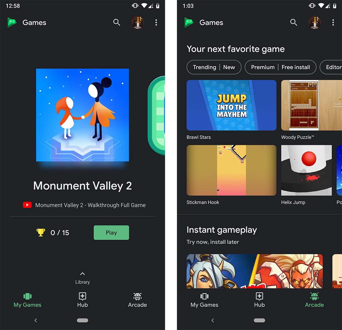 Google Play Juegos Tema Oscuro El Clasico Buscaminas Y Otras Novedades