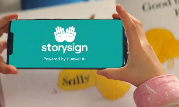 La IA de Huawei ayuda a leer a niños sordos a través de una aplicación
