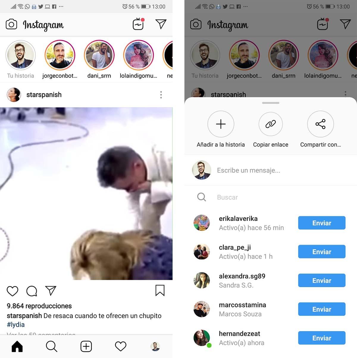 instagram descargar vídeos