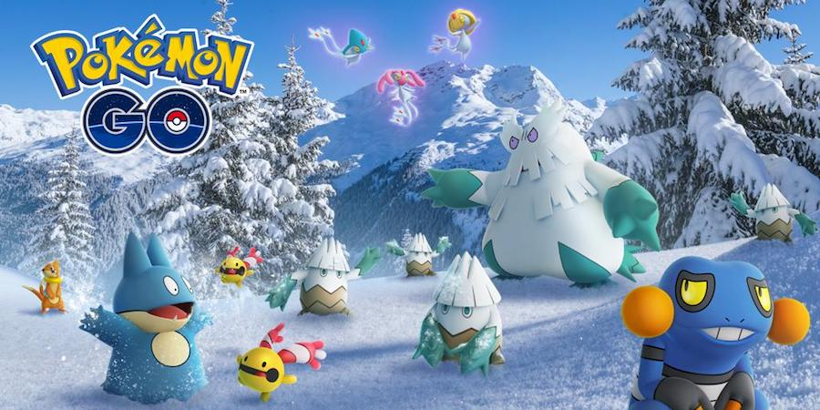 Pokémon GO estrena nuevos Pokémon en su evento de Navidad