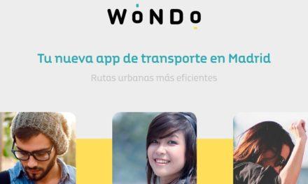 Wondo, una aplicación para encontrar coches, motos y bicis eléctricas cerca