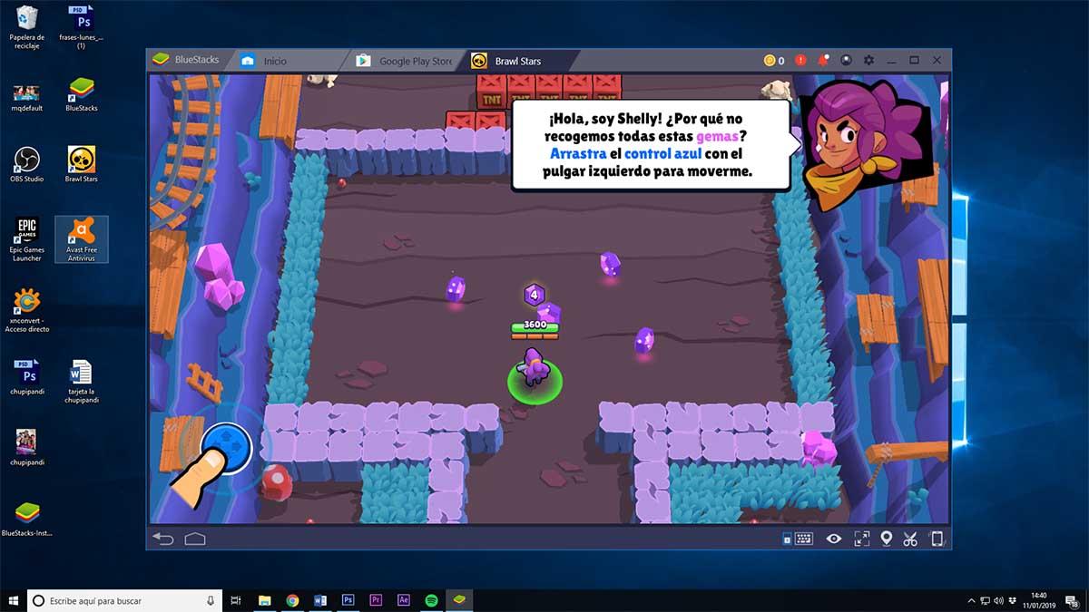 Cómo jugar a Brawl Stars con teclado y ratón en el ordenador