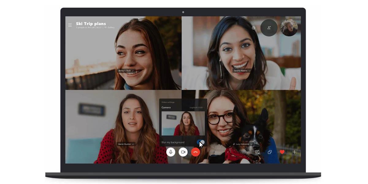 Cómo desenfocar el fondo en tus videollamadas de Skype