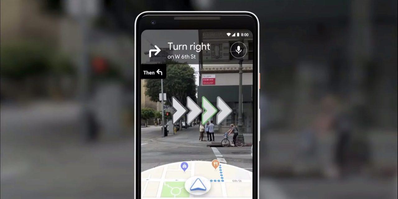 Así es la navegación con Realidad Aumentada de Google Maps