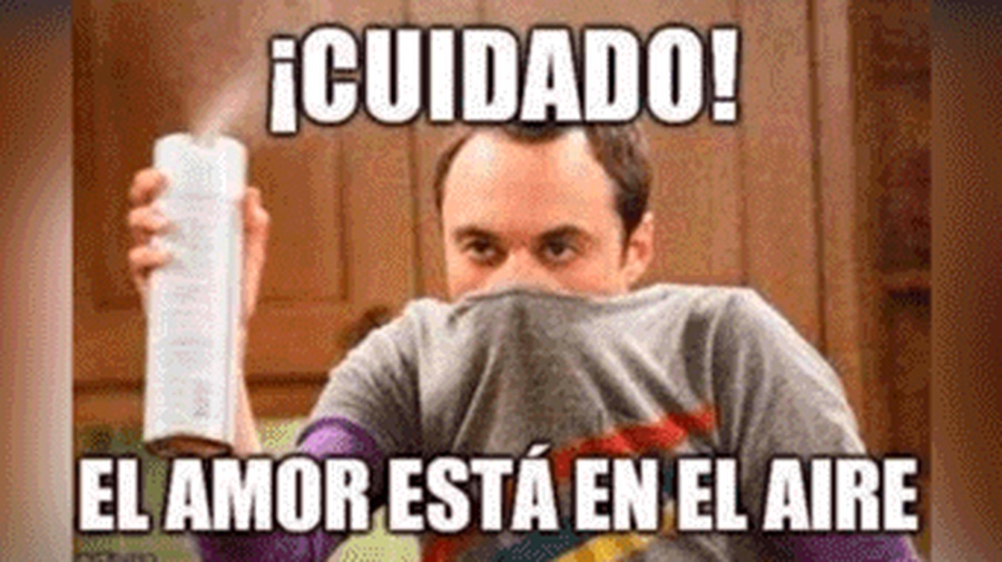 Mejores memes San Valentín Sheldon
