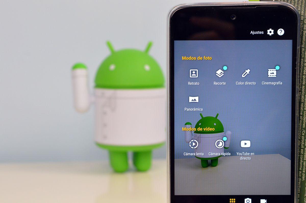Filtros, histograma y nuevas funciones llegan a la app cámara de Motorola