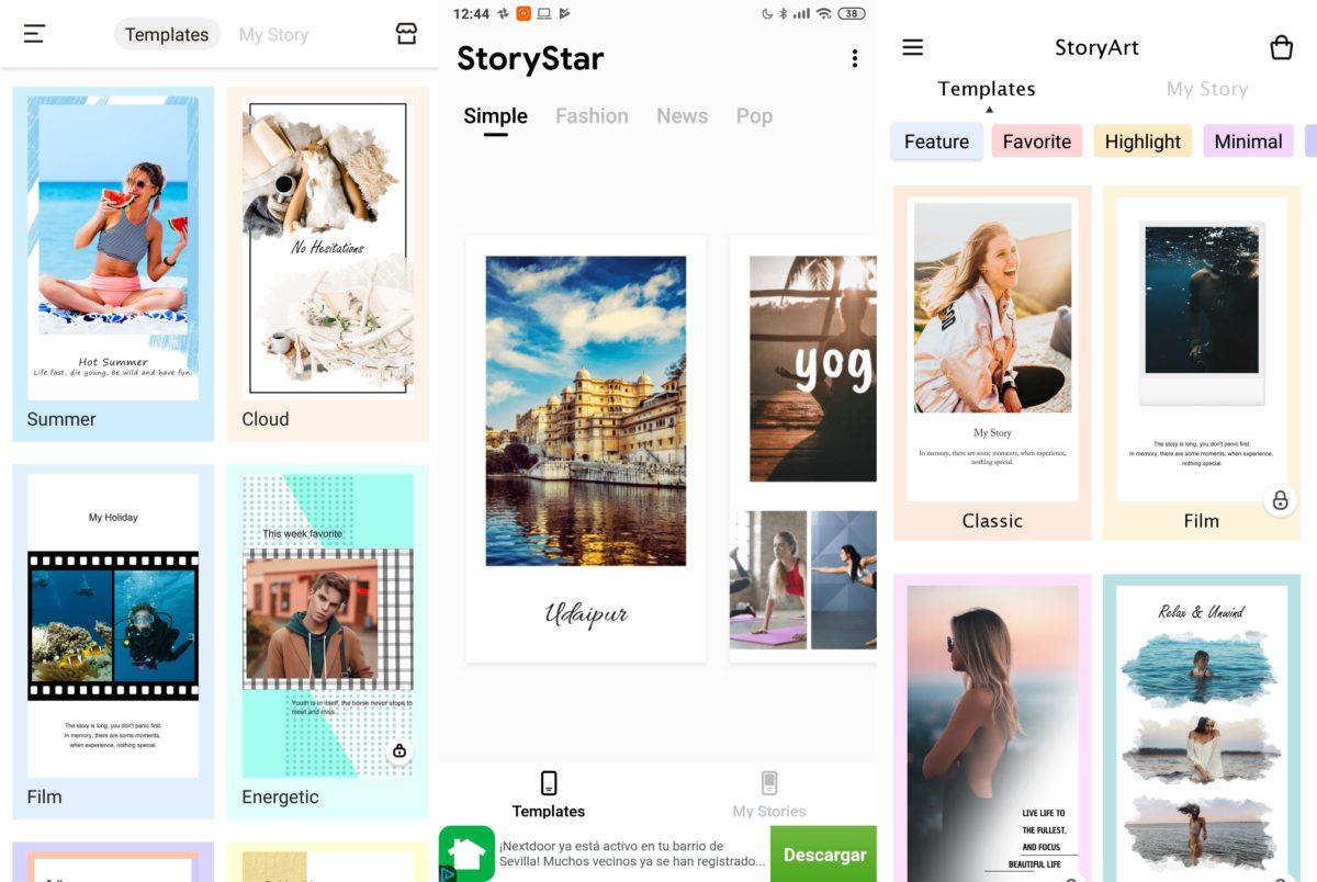 Las mejores aplicaciones de plantillas para las Stories de Instagram