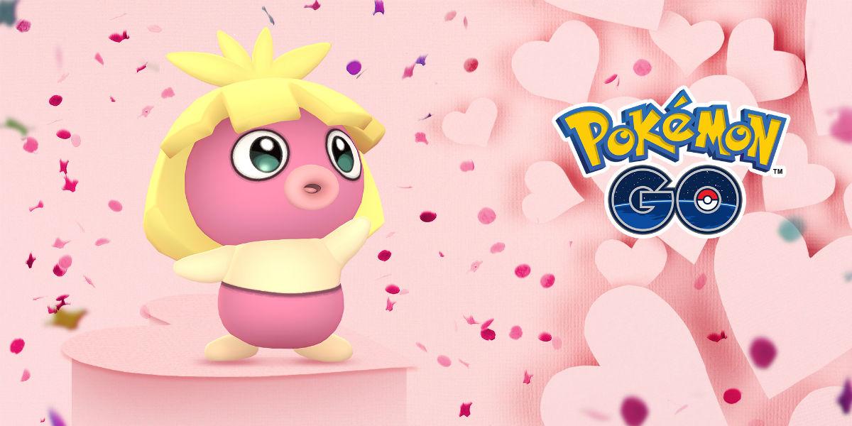 Pokémon GO se llena de Pokémon rosas por San Valentín