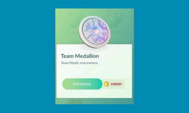 Pokémon GO permitirá cambiar de equipo una vez al año