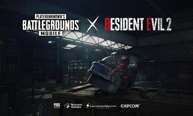 PUBG Mobile se actualiza con los zombies de Resident Evil 2
