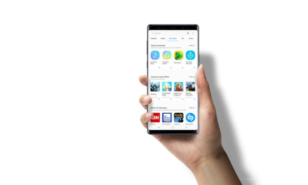 Samsung rediseña su tienda de aplicaciones Galaxy Apps y pasa a llamarse Galaxy Store