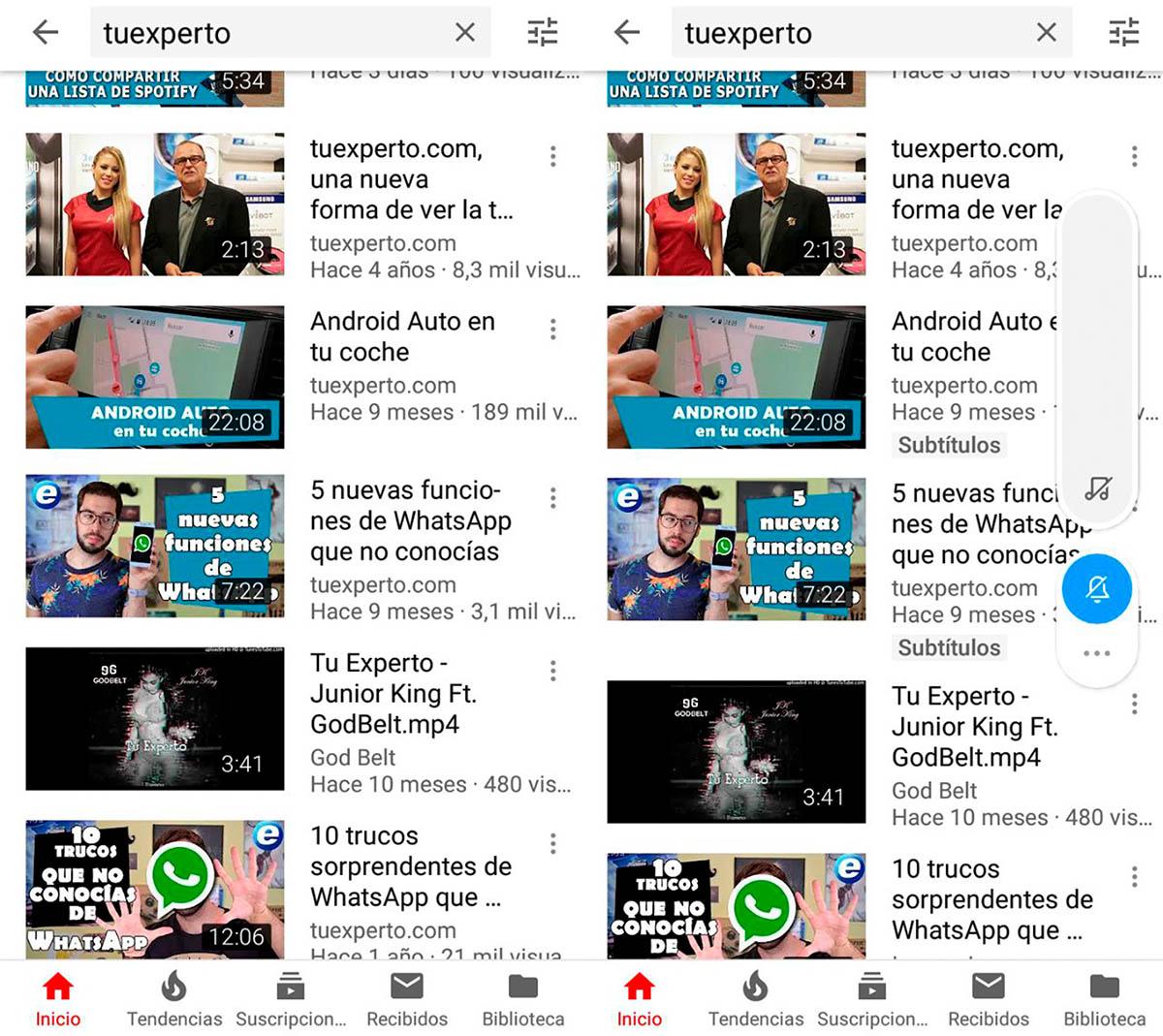 Qué vídeos tienen subtítulos en YouTube