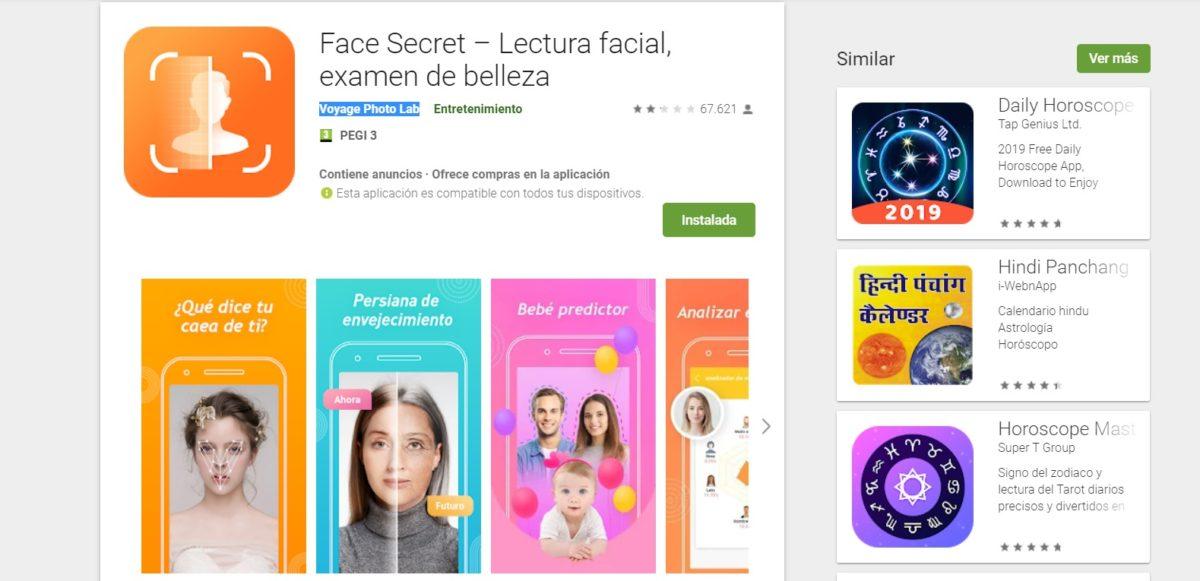 face secret