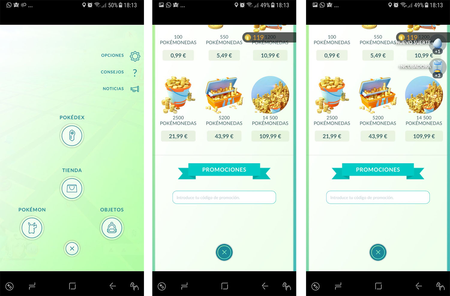 Pokémon GO beneficios