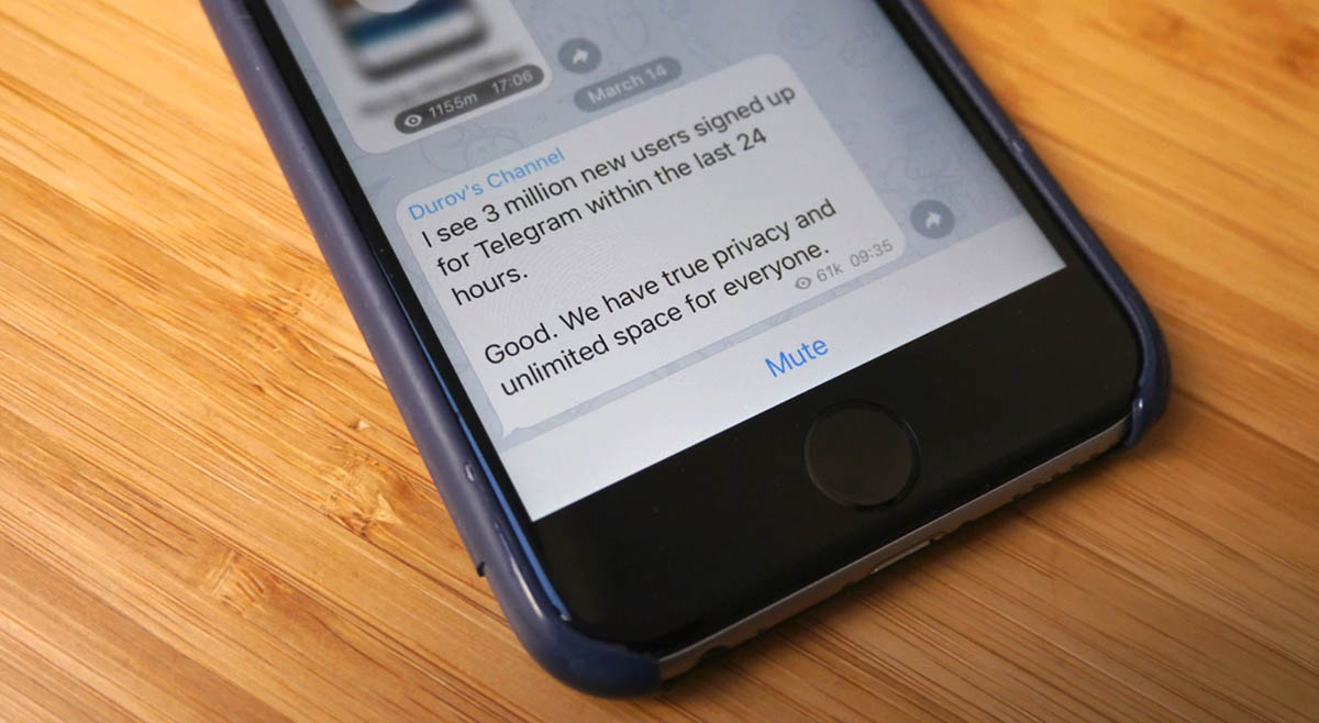 Telegram gana 3 millones de usuarios durante los fallos de Facebook y WhatsApp