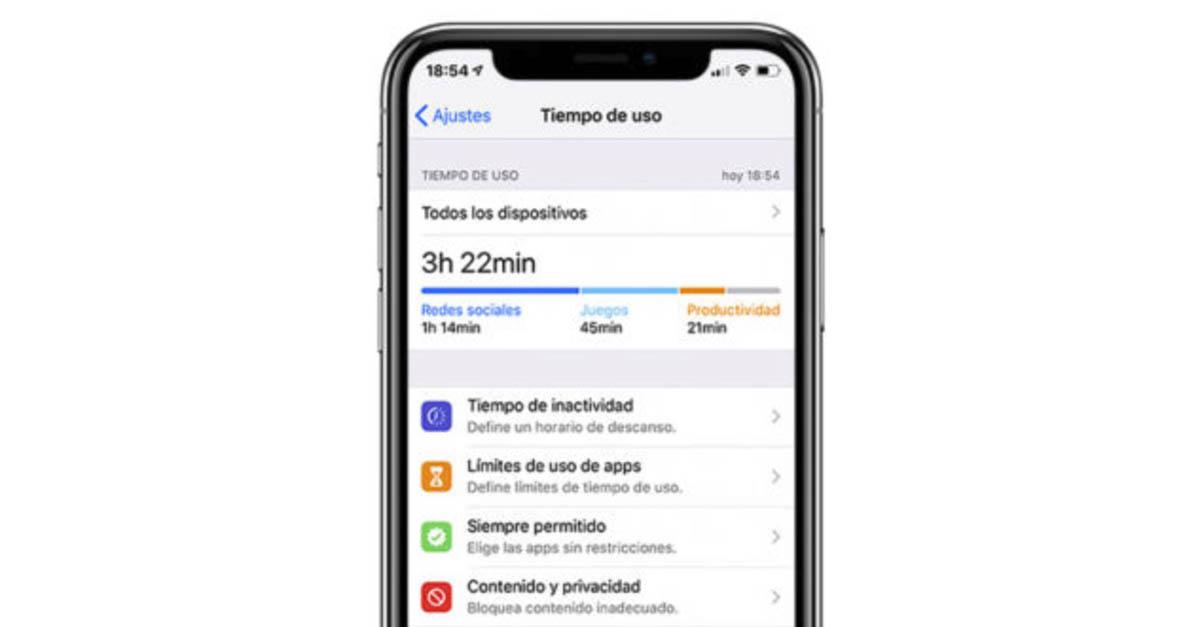 Bloquear apps en iOS