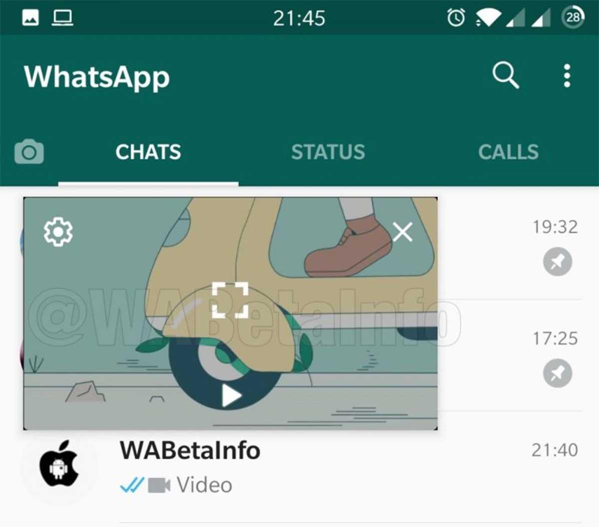 WhatsApp audios seguidos
