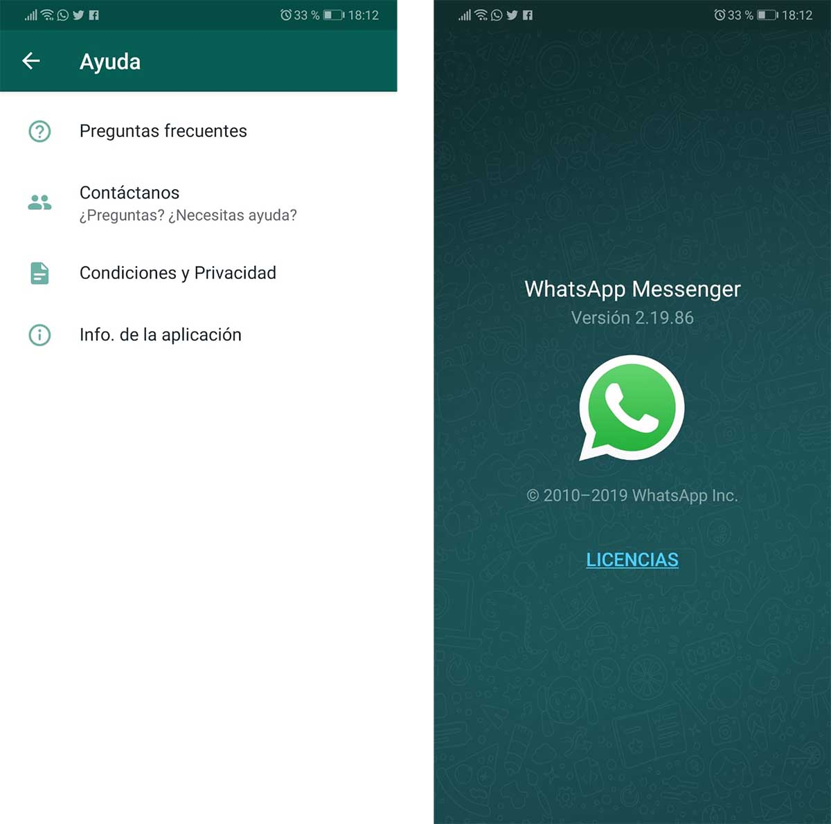 WhatsApp versión segura