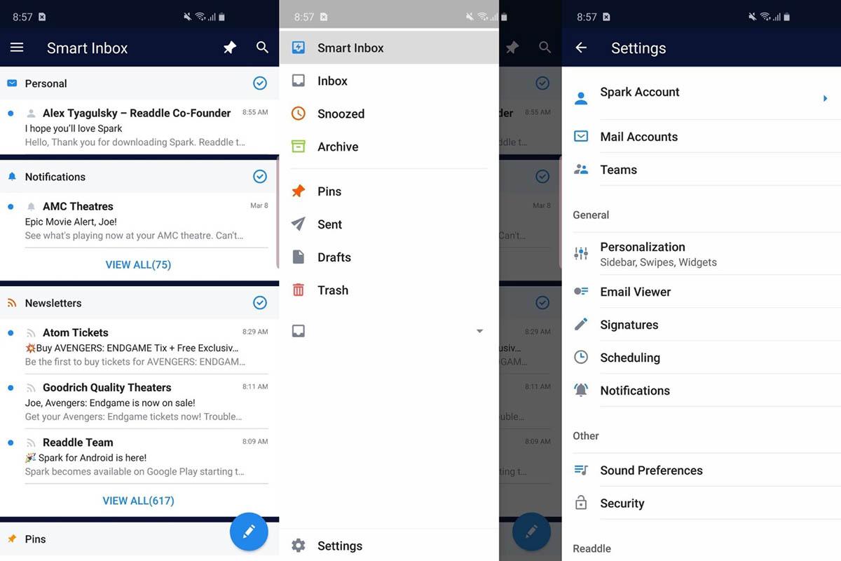 Spark está disponible para Android