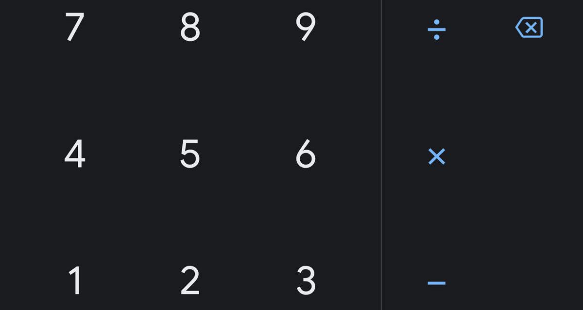 La calculadora de Google también se pasa al lado oscuro