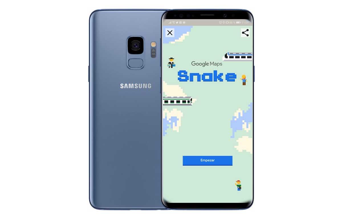 Cómo jugar al clásico Snake en Google Maps este April Fool's