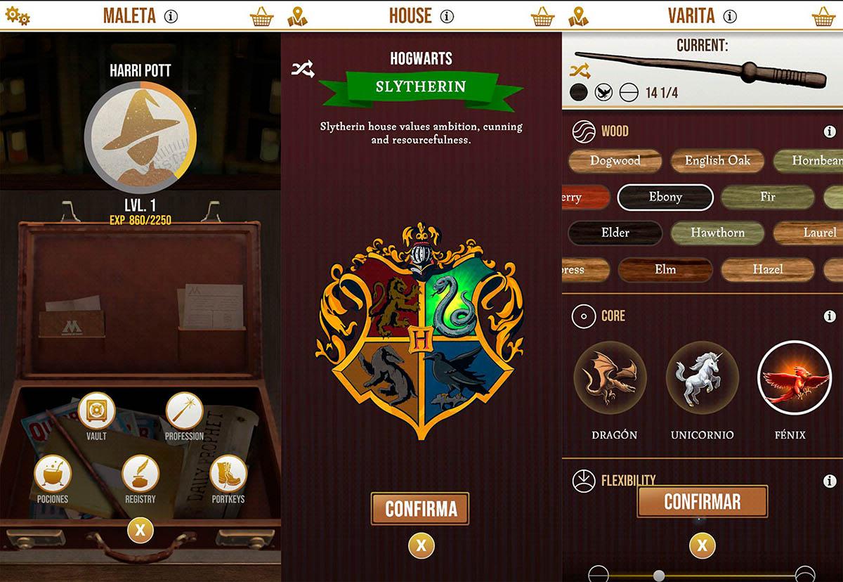 Harry Potter Wizards Unite maleta de mago
