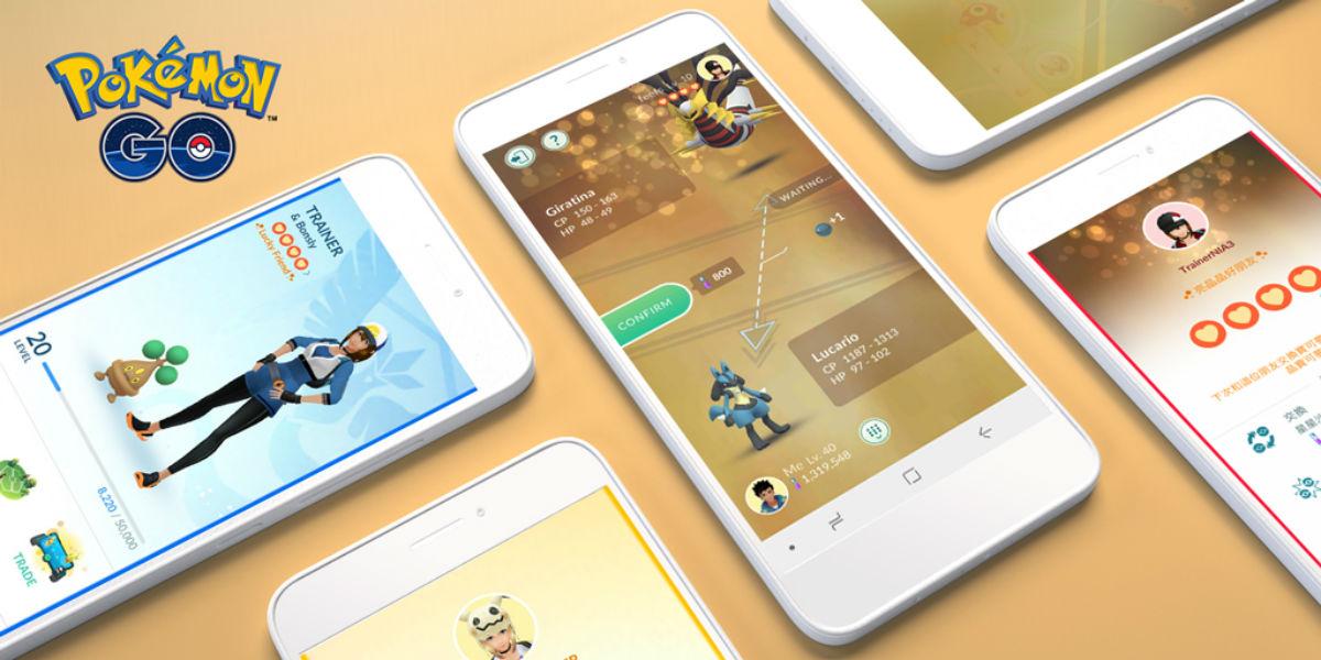 Pokémon GO estrena la Amistad con Suerte y nuevas poses para entrenadores
