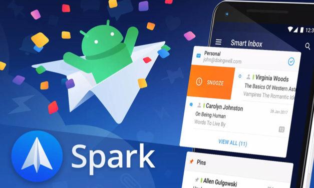 Spark, la mejor alternativa a Inbox, disponible para Android