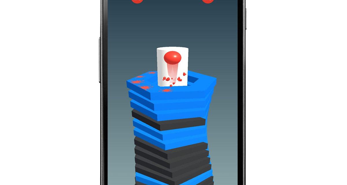 Stack Ball, una copia de Helix Jump que triunfa en Android
