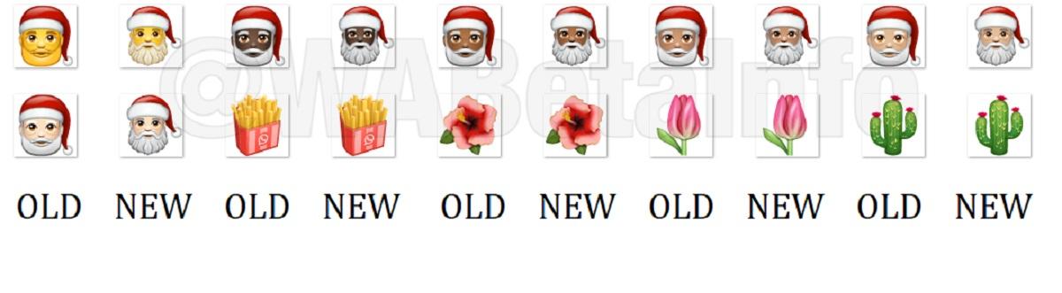 WhatsApp rediseña 155 emoticonos Emoji en Android