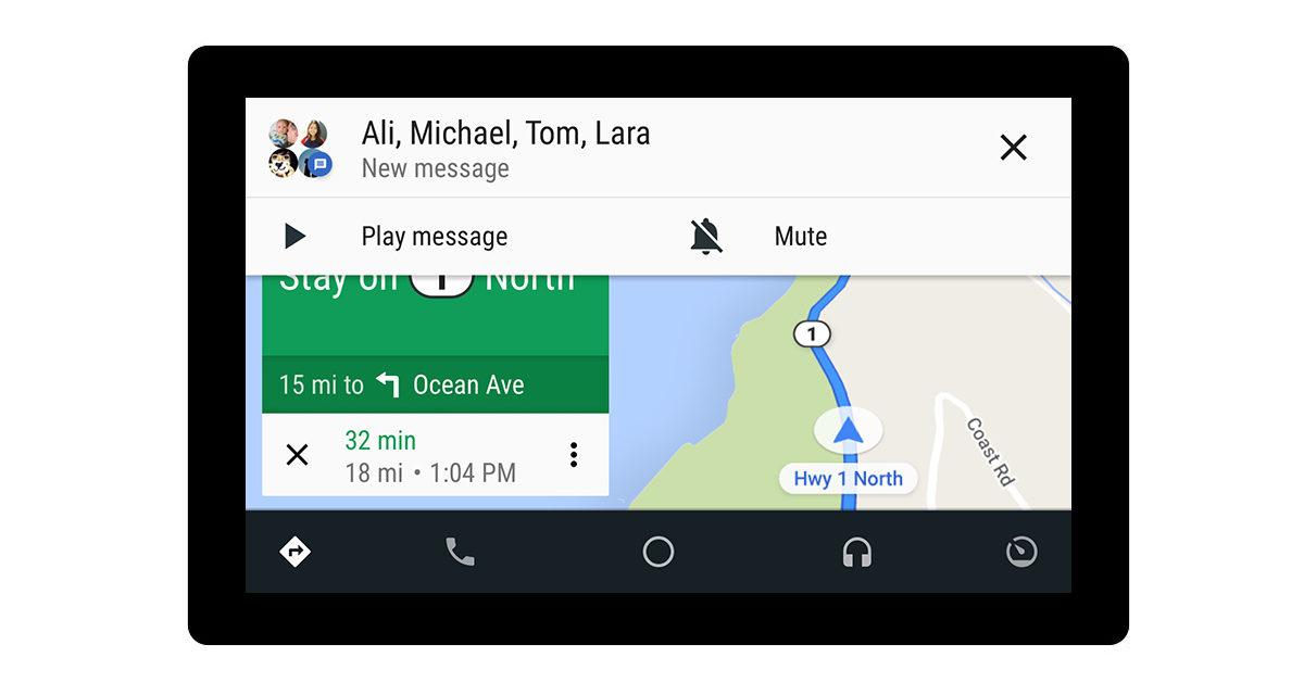 Android Auto y WhatsApp, trucos para contestar mensajes conduciendo
