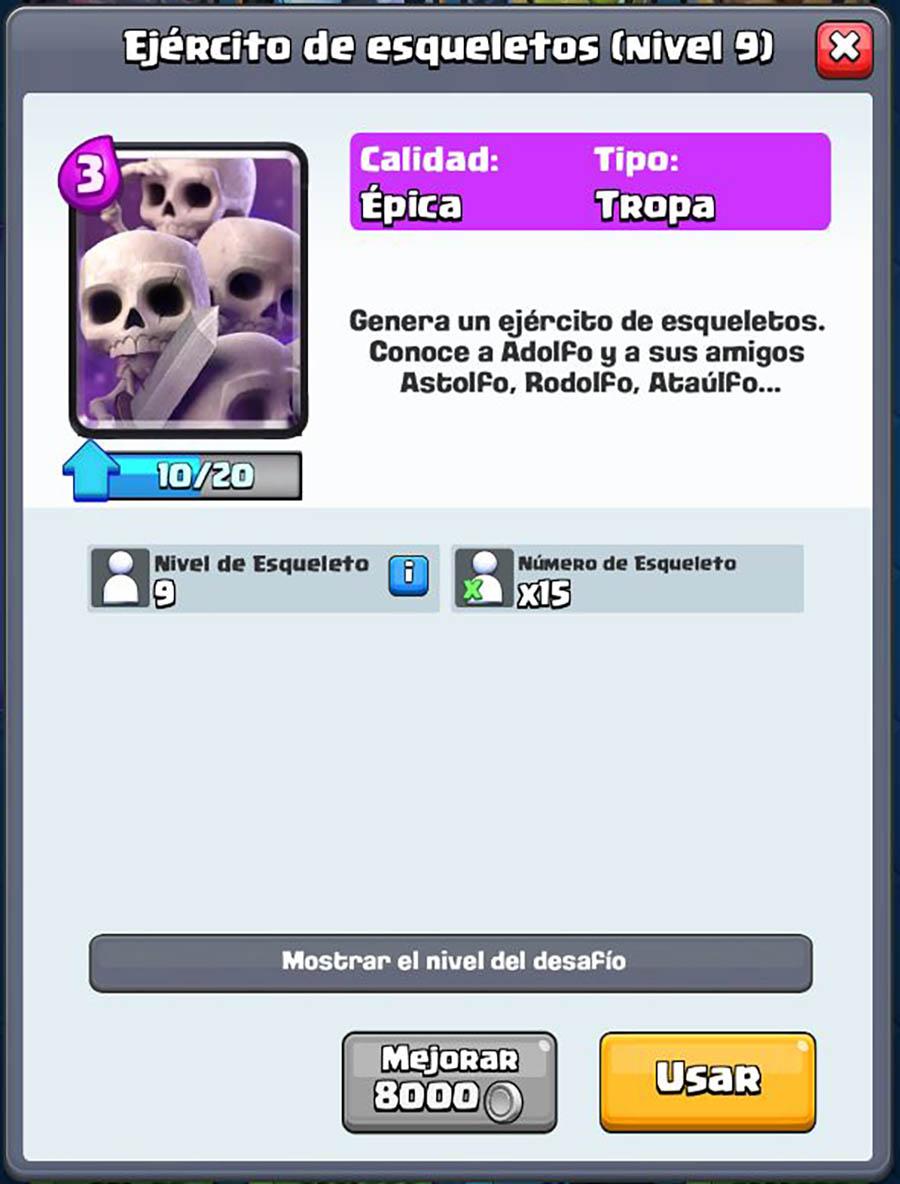 Los esqueletos son muy útiles